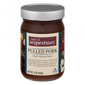 Taste Of Inspirations Pulled Pork Chef Starter Sauce