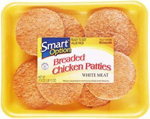 Smart Option Chicken Patties