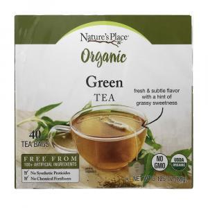 Nature's Place Organic Green Tea Bags