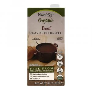 Nature's Place Organic Beef Flavored Broth