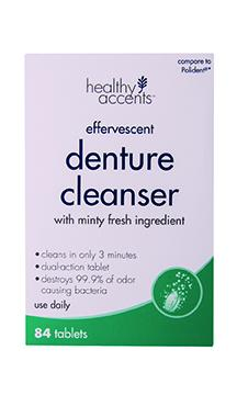 Healthy Accents Mint Denture Tablets