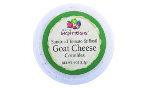 Taste of Inspirations Sundried Tomato Basil Goat Crumble