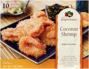 Taste Of Inspirations Coconut Shrimp