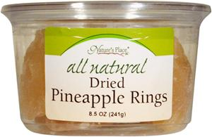Nature's Place All Natural Pineapple Rings