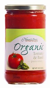 Nature's Place Organic Pasta Sauce
