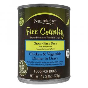 Nature's Place Chicken and Vegetables Wet Dog Food