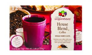 Taste Of Inspirations Single Serve House Blend Coffee