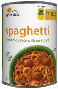 My Essentials Spaghetti & Meatballs