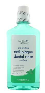 Healthy Accents Anti-plaque Dental Rinse Mint