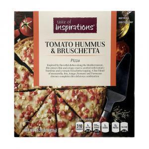 Taste Of Inspirations Tomato Hummus Bruschetta Pizza