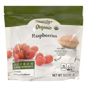 Nature's Place Organic Frozen Whole Raspberries