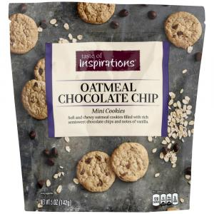Taste of Inspirations Oatmeal Chocolate Chip Mini Cookies