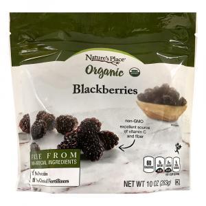 Nature's Place Organic Frozen Whole Blackberries