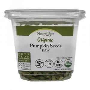 Nature's Place Raw Organic Pumpkin Seeds