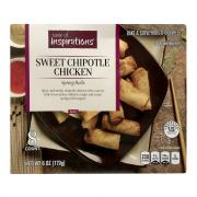 Taste of Inspirations Sweet Chipotle Chicken Spring Rolls