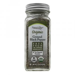 Nature's Place Organic Black Pepper Ground