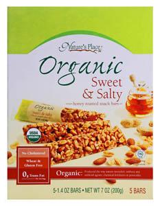 Nature's Place Organic Sweet & Salty Snack Bars