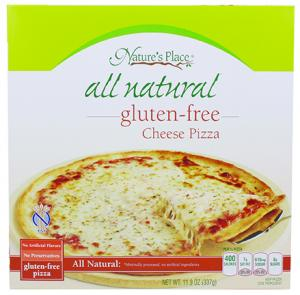 Nature's Place All Natural Gluten Free Cheese Pizza