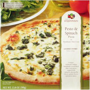 Taste Of Inspirations Pesto & Spinach Pizza