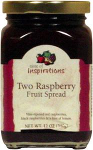 Taste Of Inspirations Two Raspberry Fruit Spread