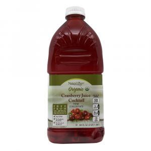 Nature's Place Organic Cranberry Juice Cocktail