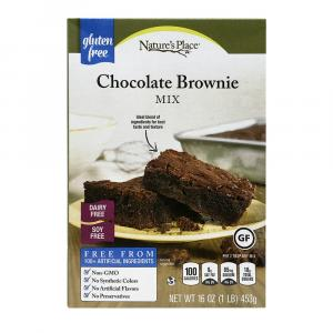 Nature's Place Gluten Free Chocolate Brownie Mix