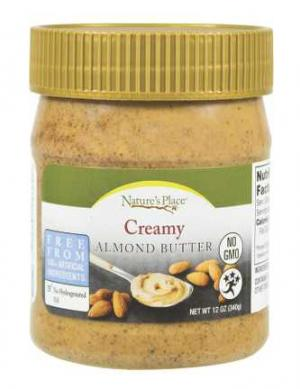 Nature's Place Creamy Almond Butter