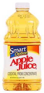 Smart Option Apple Juice Cocktail