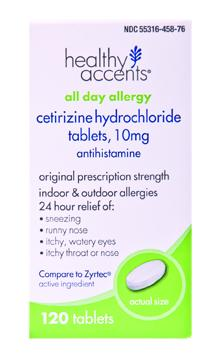 Healthy Accents Cetirizine