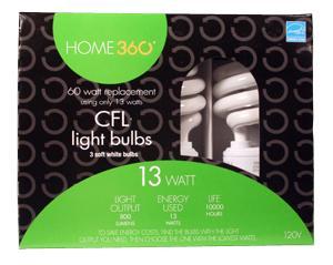 Home 360 13-watt Cfl Bulbs
