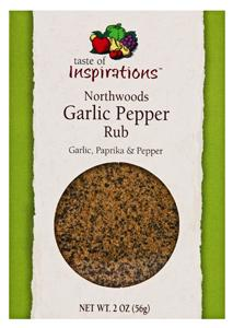 Taste Of Inspirations Northwoods Garlic Rub