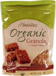Nature's Place Organic Magic Maple Granola