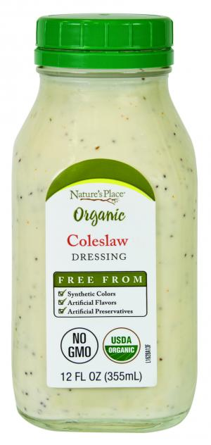 Nature's Place Organic Coleslaw Dressing