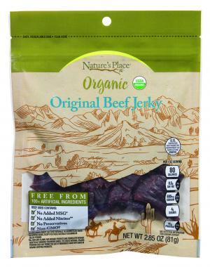 Nature's Place Organic Original Beef Jerky