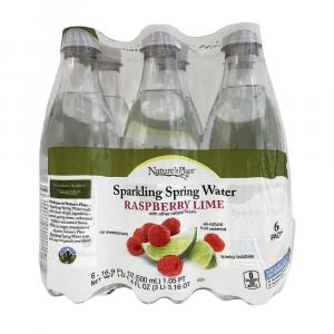 Nature's Place Raspberry Lime Sparkling Spring Water