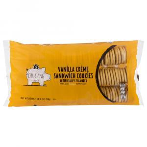 Cha-Ching Vanilla Creme Sandwich Cookies