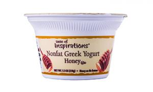 Taste Of Inspirations Nonfat Greek Yogurt Honey