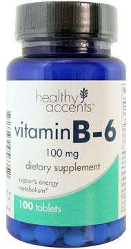Healthy Accents B-6 100 Mg Tablets