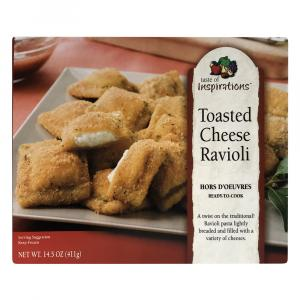 Taste Of Inspirations Toasted Cheese Ravioli