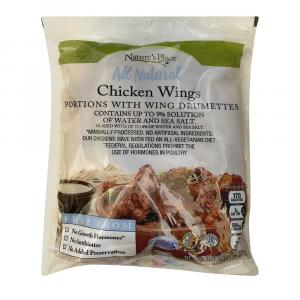 Nature's Place Frozen All Natural Chicken Wings