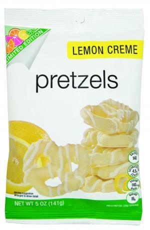Lemon Creme Pretzels