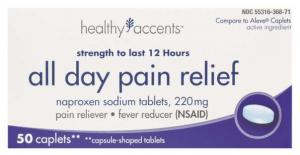 Healthy Accents Naproxen Sodium Caplets