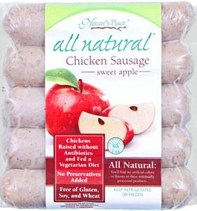 Nature's Place Apple Chicken Sausage