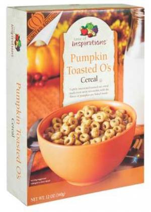 Taste of Inspirations Pumpkin O's Cereal