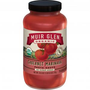 Muir Glen Organic Cabernet Marinara Sauce