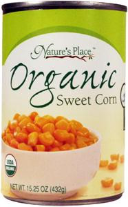Nature's Place Organic Whole Kernel Golden Corn