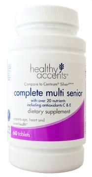 Healthy Accents Complete Multivitamins Senior