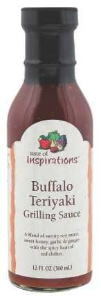 Taste Of Inspirations Buffalo Teriyaki Grilling Sauce