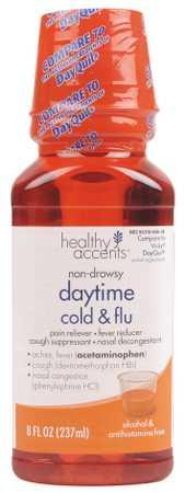 Healthy Accents Daytime Cold & Flu Liquid