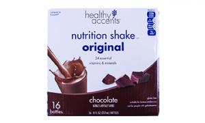 Healthy Accents Nutrition Shake Original Chocolate